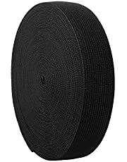 NW Black Elastic Bands for Sewing Elastic Cord