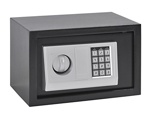 Sandusky Lee 3212-4 Digital Electronic Safe for Home, Business and Recreation with Keyless Entry, Black