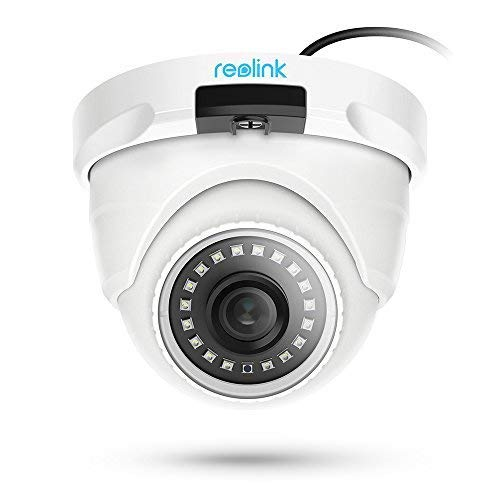 Reolink PoE IP Camera Outdoor 5MP Video Surveillance Home Security w/SD Card Slot RLC-420-5MP (5MP Dome Camera)