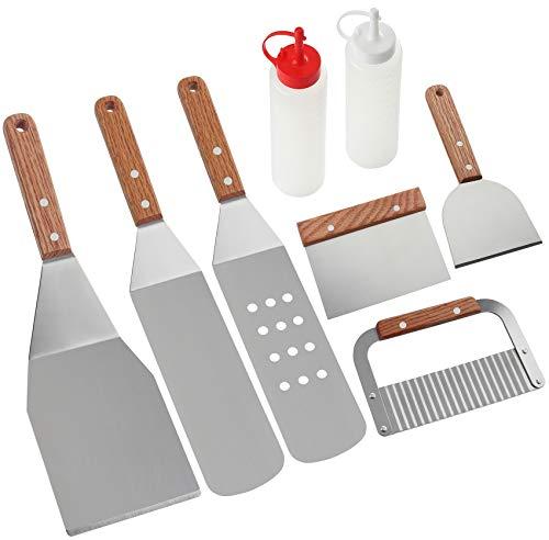 ROMANTICIST 8Pc Professional Griddle Accessories Kit Now $16.99 (Was $21.99)