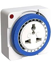 PowerPac TH124 Mechanical 24 Hours Timer Plug