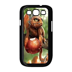 QSWHXN Phone Case Dragon Hard Back Case Cover For Samsung Galaxy S3 I9300