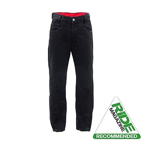 Bull-It Men'ss Sidewinder SR6 Motorcycle Jeans Pants Black Long 34/W36 1.01E+11
