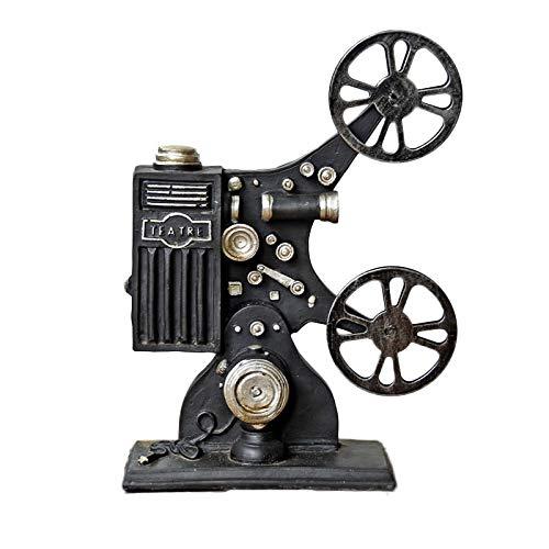 7°MR Vintage Resina Proyector Ornamento Modelo Retro Película ...