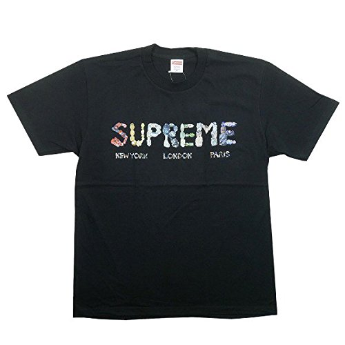 SUPREME シュプリーム 18SS Rocks Tee Tシャツ 黒 L 並行輸入品 B07F5VNVDB