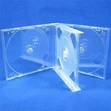 Estuche transparente Vision Media® para discos compactos (2 ...