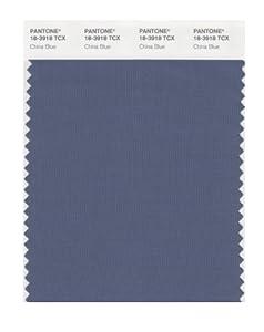 PANTONE SMART 18 3918X Color Swatch Card, China Blue
