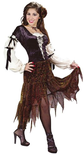 Adult Gypsy Rose Costume - Womens Sm/Md (2-8) -