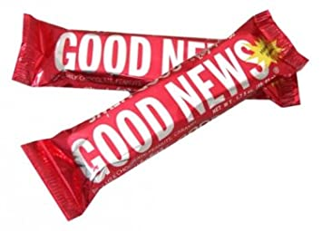 amazon com good news bar 1 75 oz 36 count candy and chocolate