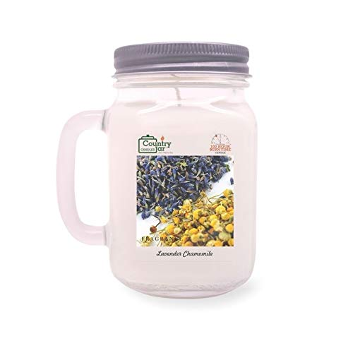 - Country Jar Lavender Chamomile Soy Candle (14.5 oz. Mason JAR) Spring Pick-3 Sale! See Details.