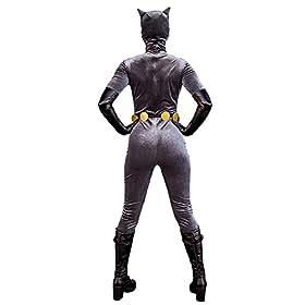 - 41kNE8obVJL - Cosplay.fm Women's Anime Cat Woman Velvet Costume Cosplay Suit Halloween