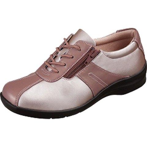 魔法の靴(=GPSインソールシューズ)  gps端末を持たずにもたせる EVE195 (24.0, ピンクコンビ) B06XXYVF8J 24.0|ピンクコンビ ピンクコンビ 24