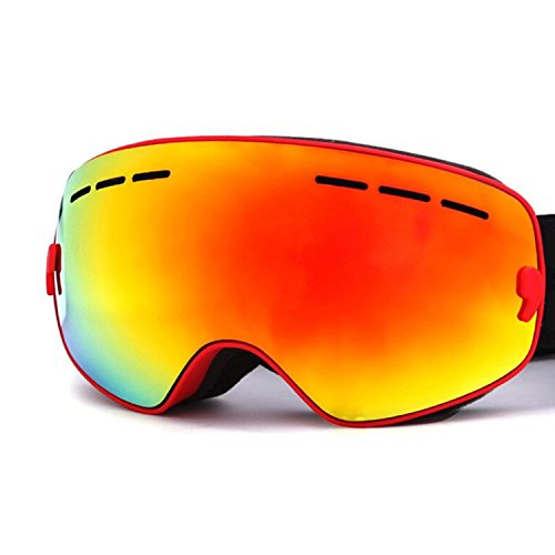 Hicool Snowboard Snowmobile Goggle Mirrored