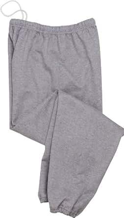 Jerzees Men's NuBlend Fleece Relaxed Fit Sweatpants, Oxford, 3XL