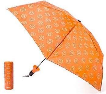 VINRELLA Wine Bottle Umbrellas, Botanical Orange ()