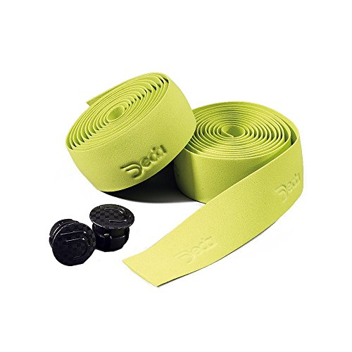 Deda Elementi Logo Synthetic Road Bicycle Handlebar Tape (Green Apple) by Deda