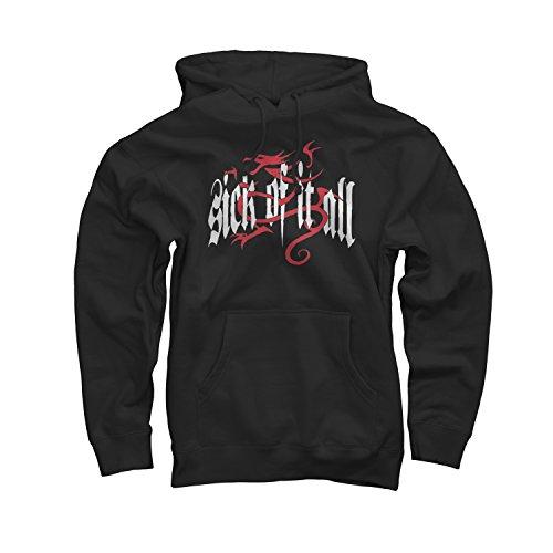 Merch Direct Sick Of It All - Olde English Dragon - Pullover - Sweatshirt - Bla - (Sick Of It All Dragon)