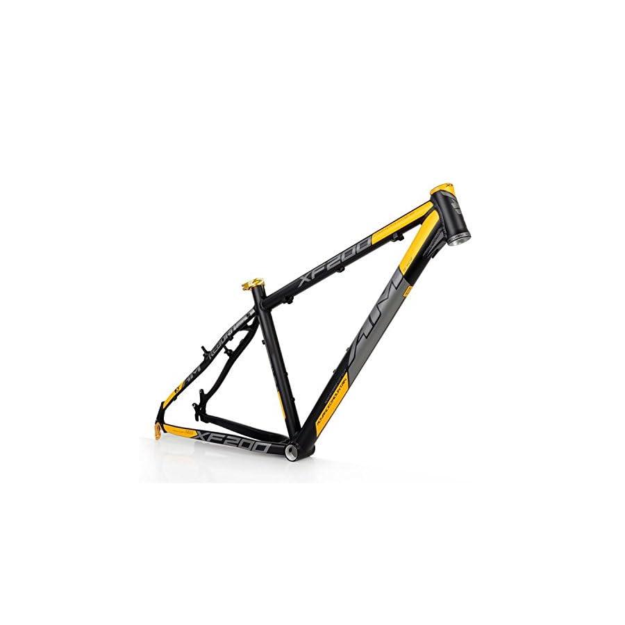 "OEM 2015 AM XF200 AL6061 Mountain Bike Frame 26"" x 16 17 18"" Black Yellow"