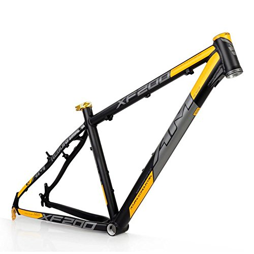 """2015 AM XF200 AL6061 Mountain Bike Frame 26""""x 16 17 18"""" Black Yellow"""
