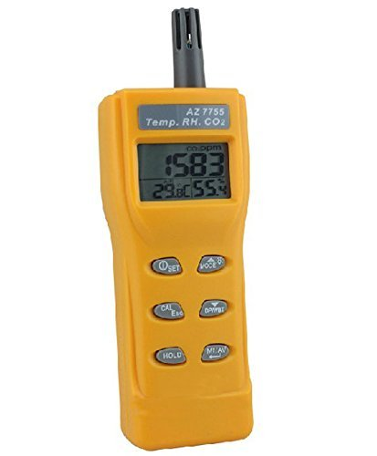Smart Meter AZ-7755 CO2 Detector Humidity Dew Point Temperature Detection RH Temp CO2 Tester - - Amazon.com