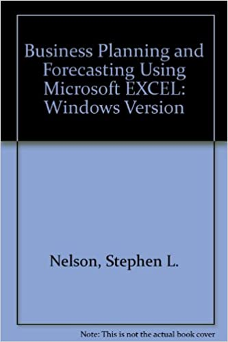 amazon business planning and forecasting using microsoft excel
