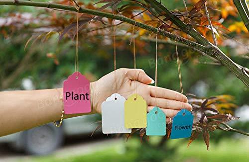 ('50pcs Gardening Plant Waterproof Hanging Tags Flower Vegetable Planting Label Tools')