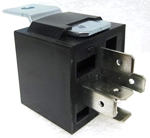20 PACK - RL5M - Relay SPDT 40 amp sealed, Plastic Case with Metal Mounting Tab