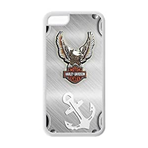 Custom Harley Davidson Eagle iPhone 5C New style Case Cover