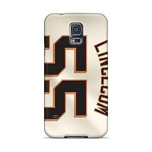 Samsung Galaxy S5 Aha14716oLNs Allow Personal Design Beautiful San Francisco Giants Pictures Bumper Phone Case -LeoSwiech