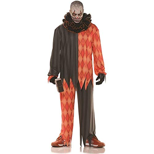 Underwraps Evil Halloween Clown Adult Costume