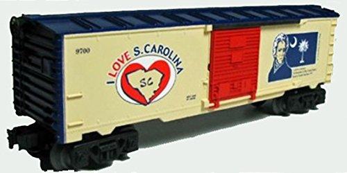 LIONEL TRAINS I LOVE SOUTH CAROLINA BOXCAR - Carolina Factory Outlet South