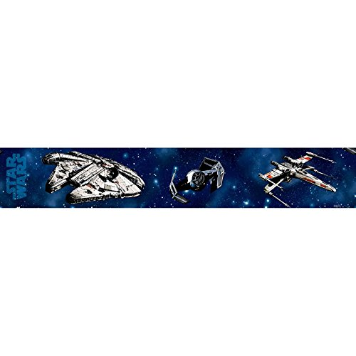 Star Wars Craft Self Adhesive Wallpaper Border 5m (Wallpaper Border Star Wars)