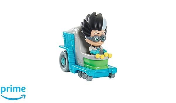 PJ Masks Mini vehículo Romeo (Bandai 24634): Amazon.es: Juguetes y juegos