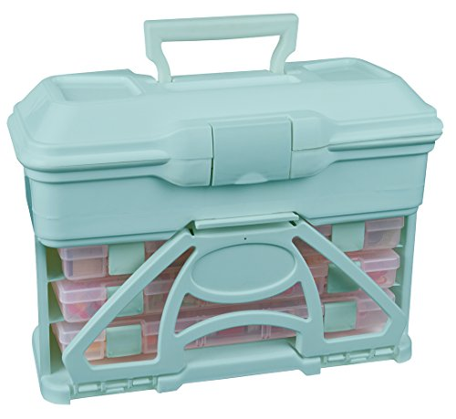 ArtBin 6994AA Solutions Cabinet Art and Craft Storage Box, Aqua by ArtBin