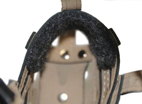 Dean & Tyler D&T Royal Muzzle GSD Royal Leather Padded Muzzle, German Shepherd, Black by Dean & Tyler (Image #3)