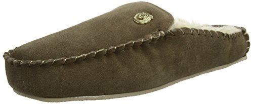 Ruby & Ed Herren Mens Moose Lion Bruno Sneaker Brown (Moose)