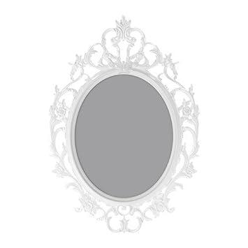 IKEA UNG DRILL Rahmen in weiß; oval; (40x50cm): Amazon.de: Küche ...