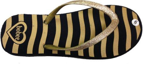 Zebra Flop Straps print Flip With Womens Gold Glitter wth t7WwqSn45