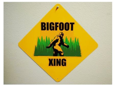 Bigfoot Crossing - Metal Sign