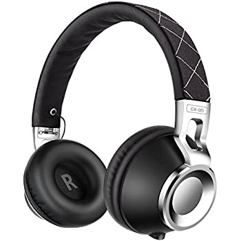 Sound Intone CX-05 Noise Isolating Headphones with Microphone - Black