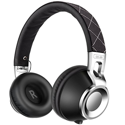 Sound Intone CX-05 Noise Isolating Headphones with Microphone - Black by Sound Intone