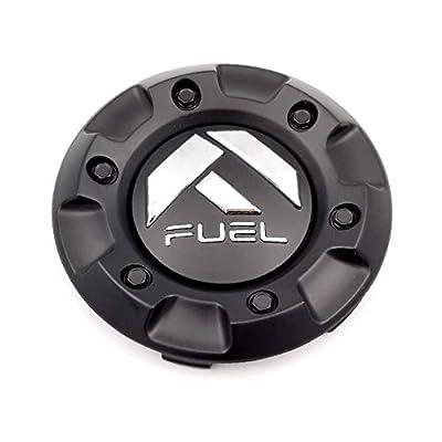 Fuel Matte Black Custom Wheel Center Cap ONE (1) M-447, 1001-58: Automotive