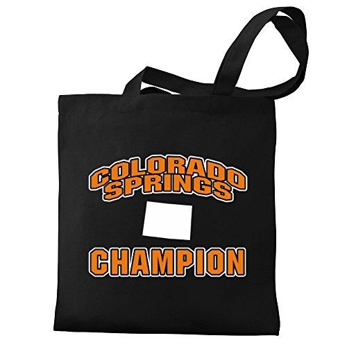 Tote champion Eddany Colorado Tote champion Colorado Springs Canvas Eddany Springs Bag Canvas 8w77qxv