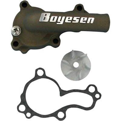 Boyesen Supercooler Water Pump Cover and Impeller Kit Magnesium for Kawasaki KLX450R 2008-2009