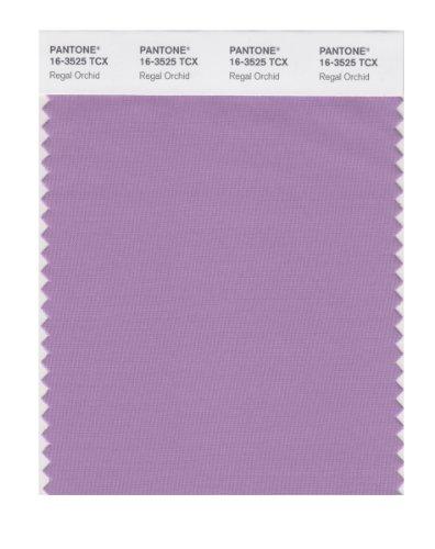 PANTONE SMART 16-3525X Color Swatch Card, Regal Orchid ()