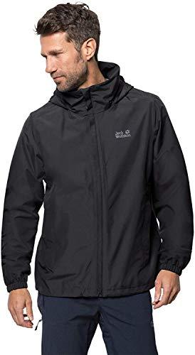 Jack Wolfskin Stormy Point Jacket M, wasser- und winddichte Allwetterjacke für Herren, robuste Hardshelljacke für jedes Wetter, atmungsaktive Herren Regenjacke