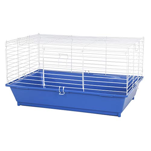 Ware Manufacturing Home Sweet Home Pet Cage for Small Animals - 28 Inches - Colors May - Midwest Starter Series