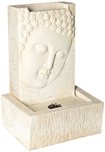 Polyresin and Fiberglass Buddha Fountain by Jeco Inc.