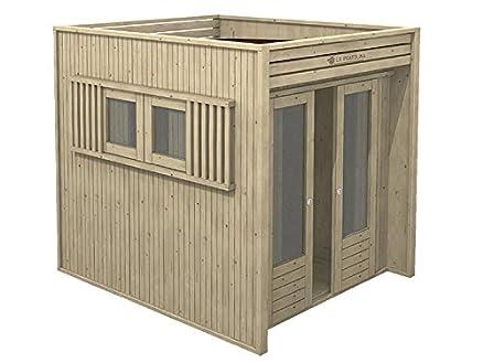 Casetta in legno da giardino 2x2 LA PRATOLINA di alta qualità ...