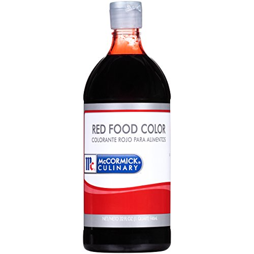 Pint Dye - McCormick Food Coloring, Red, 32-Ounce